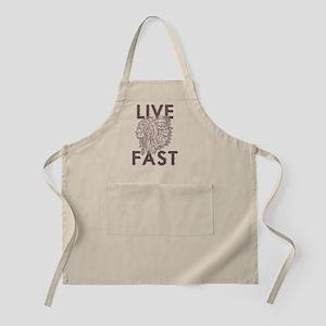 Live Fast Apron