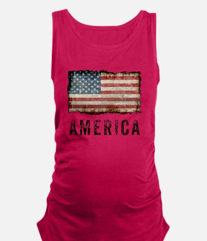 Vintage America Maternity Tank Top