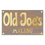 Old Joe's Rectangle Sticker