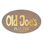 Old Joe's Oval Sticker