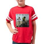4-OBAMA BEACH Youth Football Shirt