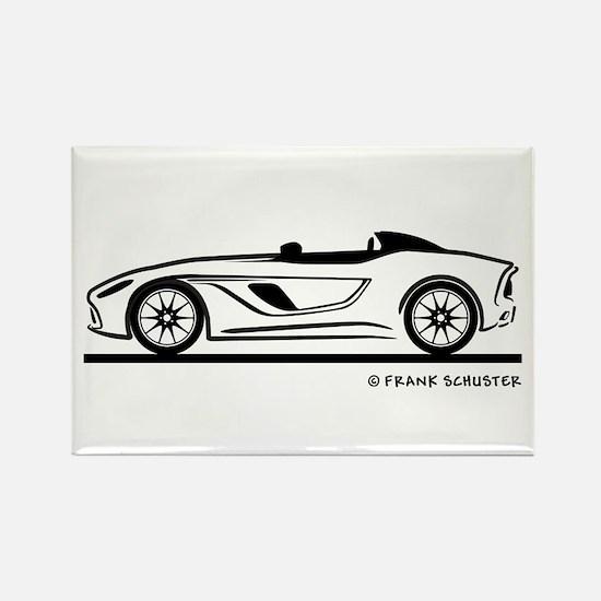 Aston Martin CC 100 Speedster Rectangle Magnet