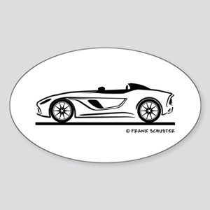 Aston Martin CC 100 Speedster Sticker (Oval)