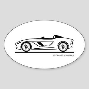 Aston Martin CC 100 Speedster Sticker (Oval)