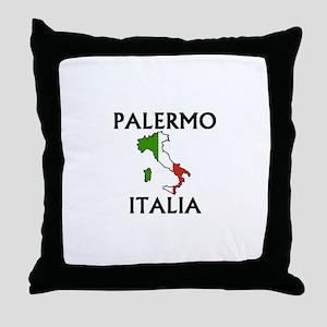 Palermo, Italia Throw Pillow