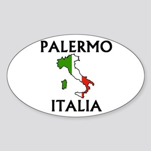 Palermo, Italia Oval Sticker