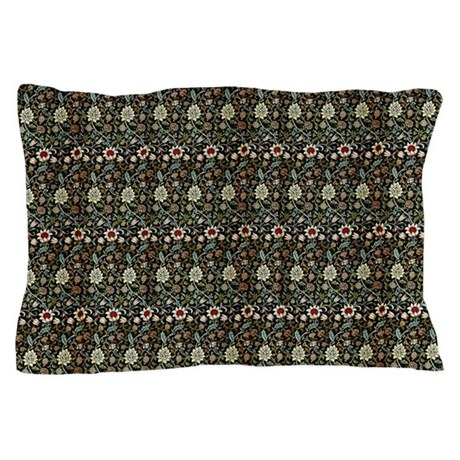 Morris evenlode with repeats pillow case by fineartdesigns for White craft pillow cases