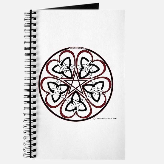 Celtic Heart Pentacle3 Journal