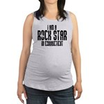 Rock Star In Connecticut Maternity Tank Top