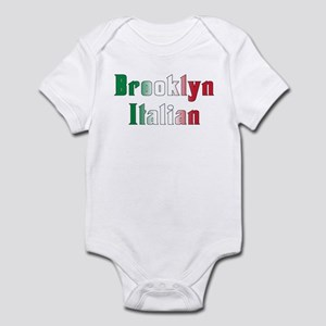 Brooklyn Italian Flag Baby Clothes Accessories Cafepress