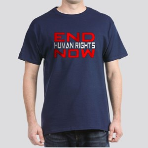 End Human Rights Dark T-Shirt