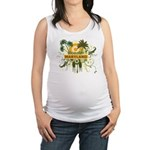 Palm Tree Maryland Maternity Tank Top
