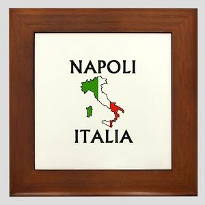 Napoli, Italia Framed Tile