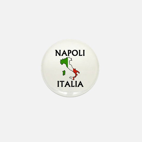 Napoli, Italia Mini Button
