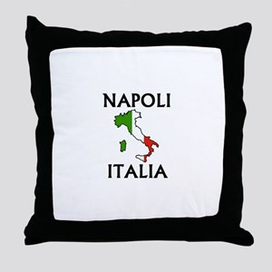 Napoli, Italia Throw Pillow