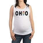 Cute Ohio Maternity Tank Top