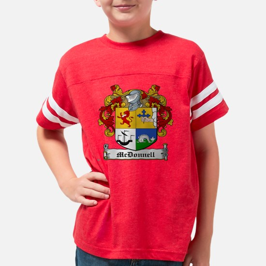 McDonnell Family Youth Football Shirt