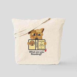 Reading Dog Hugo Tote Bag