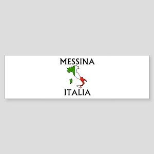 Messina, Italia Bumper Sticker