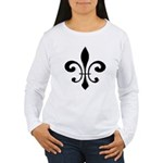 Fleur De Lis Women's Long Sleeve T-Shirt