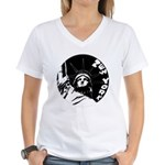 New York Souvenir Women's V-Neck T-Shirt