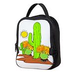 cactus plants Neoprene Lunch Bag