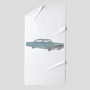 1960 car Beach Towel