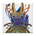 Wishbones Tile Coaster