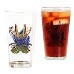 Wishbones Drinking Glass