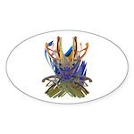 Wishbones Sticker (Oval 10 pk)