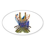 Wishbones Sticker (Oval 50 pk)