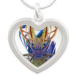 Wishbones Silver Heart Necklace