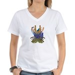 Wishbones Women's V-Neck T-Shirt