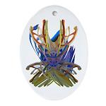 Wishbones Ornament (Oval)