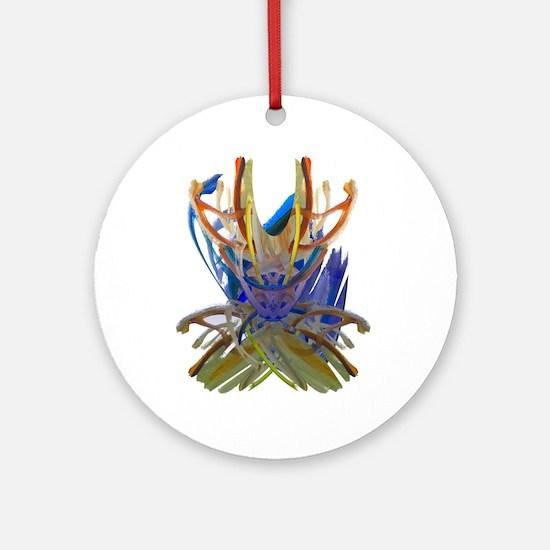 Wishbones Ornament (Round)