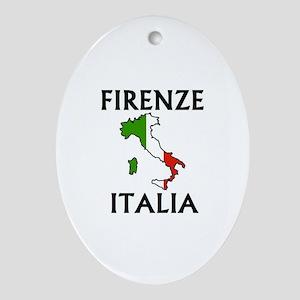 Firenze, Italia Oval Ornament