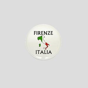 Firenze, Italia Mini Button