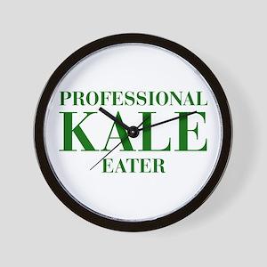 professional-kale-eater-bod-green Wall Clock