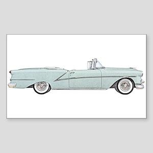 1954 car Sticker (Rectangle)