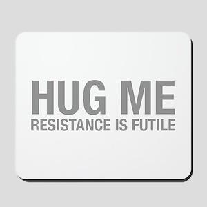 hug-me-HEL-GRAY Mousepad