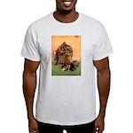 Hudson 6 Ash Grey T-Shirt