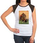 Hudson 6 Women's Cap Sleeve T-Shirt