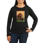 Hudson 6 Women's Long Sleeve Dark T-Shirt