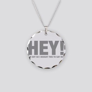 hey-HEL-GRAY Necklace