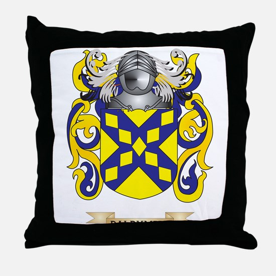 Dalrymple Coat of Arms Throw Pillow