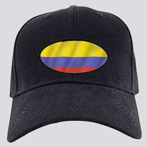 Pure Flag of Colombia Black Cap