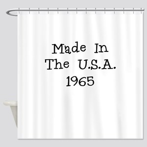 Made In The Usa 1965 Shower Curtain