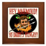 Anti-Ahmadinejad Framed Tile