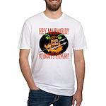 Anti-Ahmadinejad Fitted T-Shirt