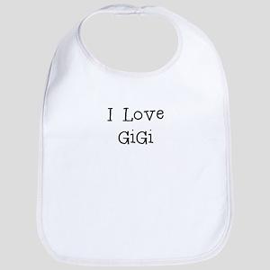 I Love GiGi Bib
